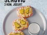 Garnirani sendvič